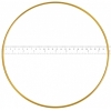 "Metal Rings 10""/25.4cm Brass"